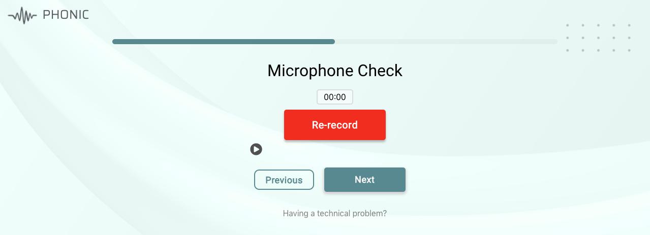 failed microphone test 2